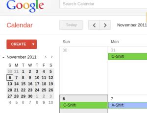Using Google Calendars To Create A Shift Calendar Medic Madness