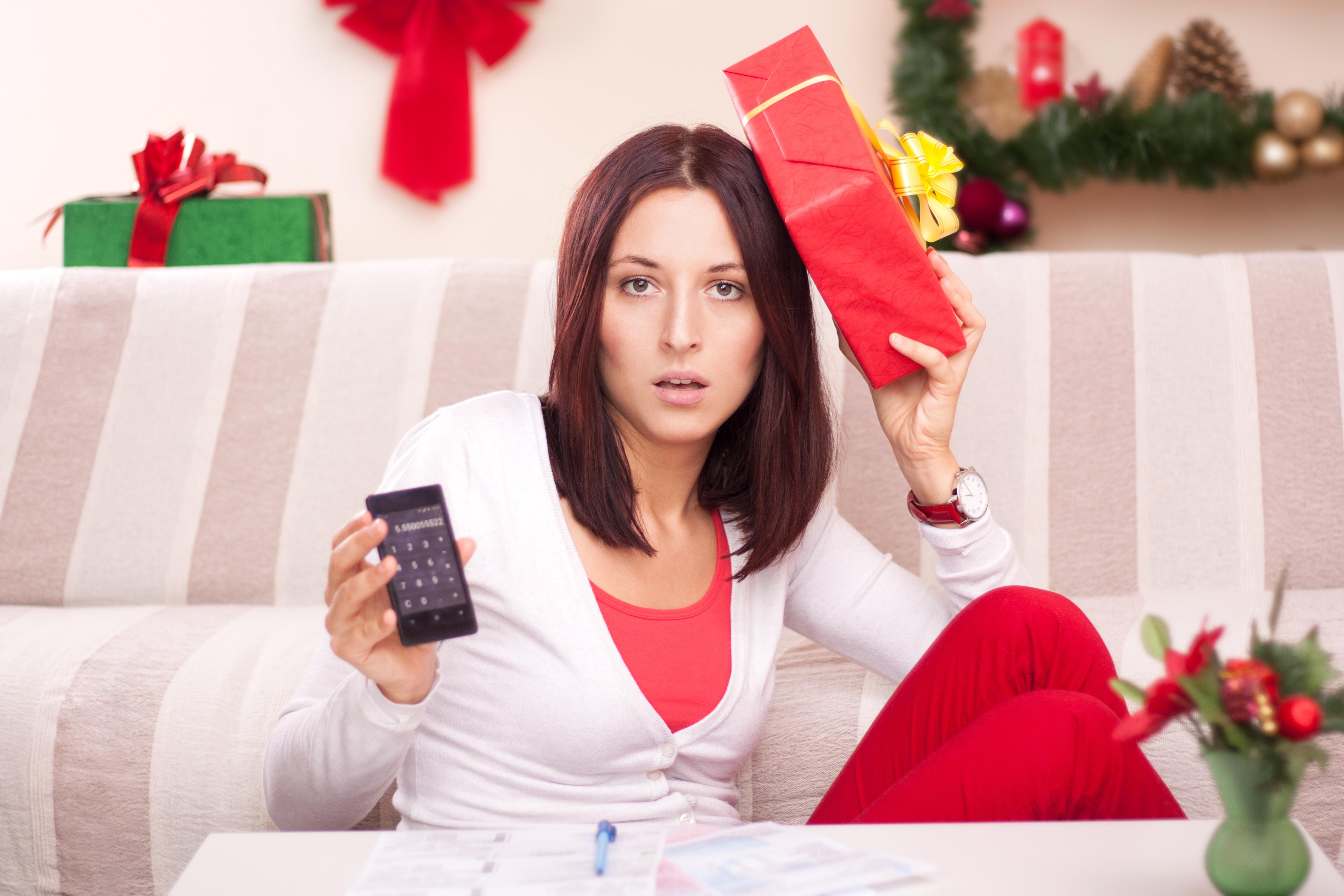 Christmas spending.